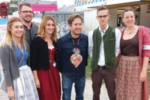 Die Jusos Kelheim mit Kevin Kühnert